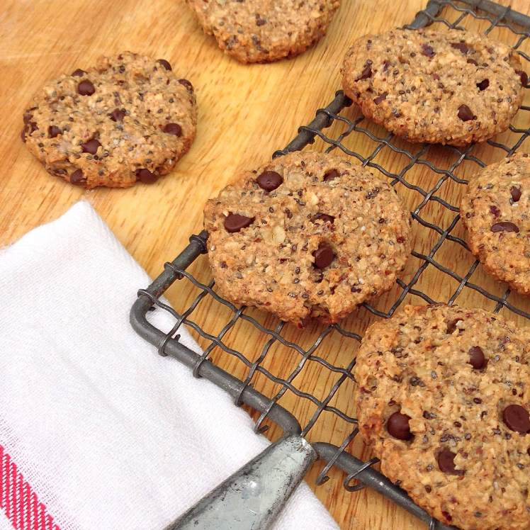 nutty oatmeal cookie 2