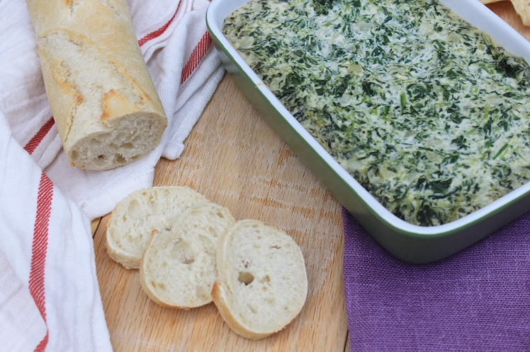 spinach dip, recipe, vegan, dairy free, appetizer, creamy, healthy, snack
