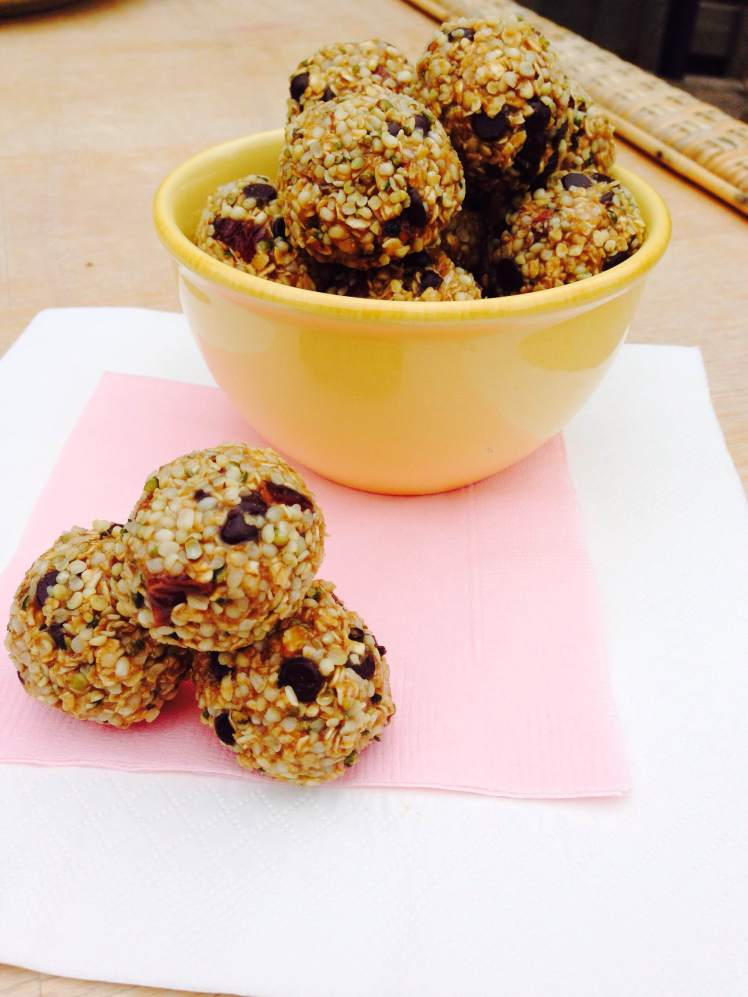 sunflower oatmeal truffles 4