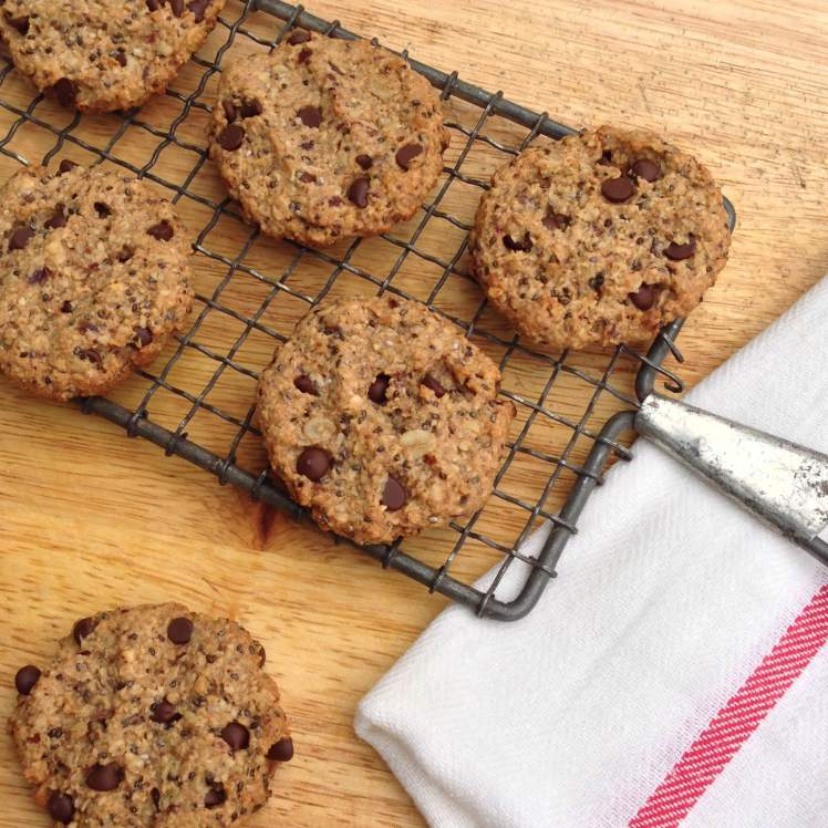 nutty oatmeal cookie 3
