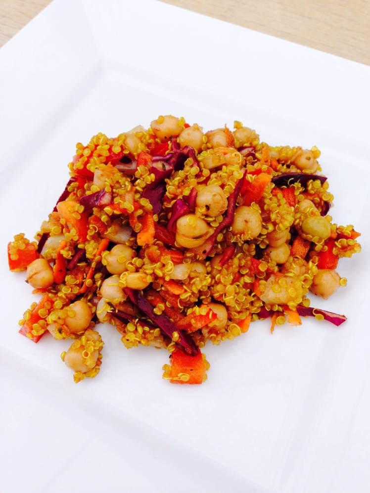 Moroccan quinoa salad 1