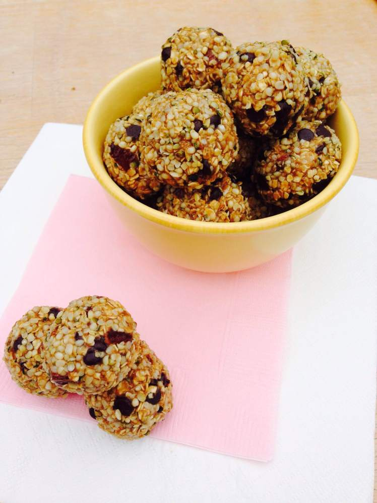 sunflower oatmeal truffles 2