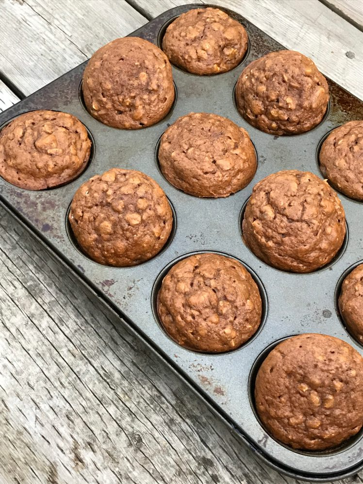 muffins, dairy free, easy, snack