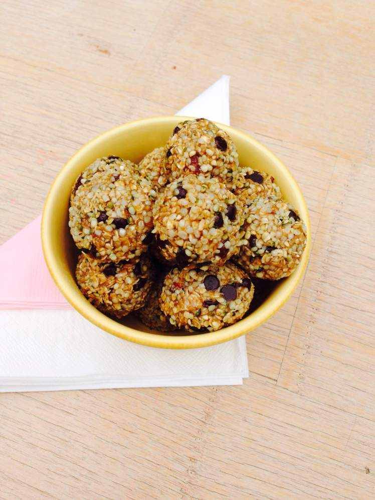 sunflower oatmeal truffles 7