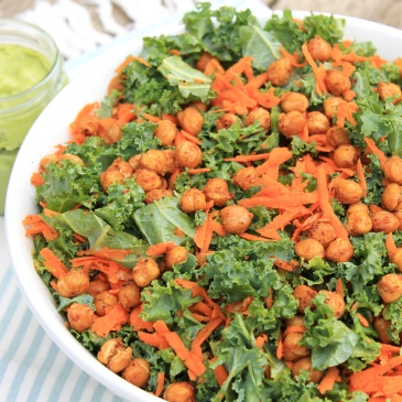 kale salad, creamy dressing, healthy lunch ideas, healthy dinners, simple recipes, recipe, salad