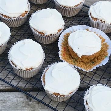 cupcakes, dessert, baking, easy, pumpkin